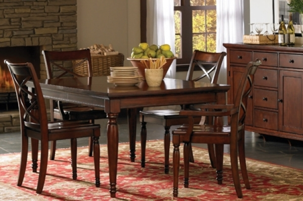 Traditional Cambridge 7 Piece Dining Set
